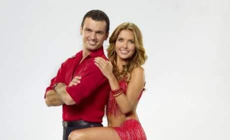 Audrina Patridge and Tony Dovolani