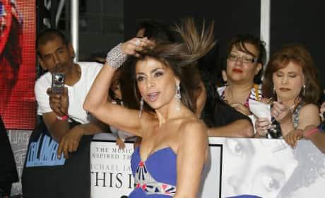 Paula at Premiere
