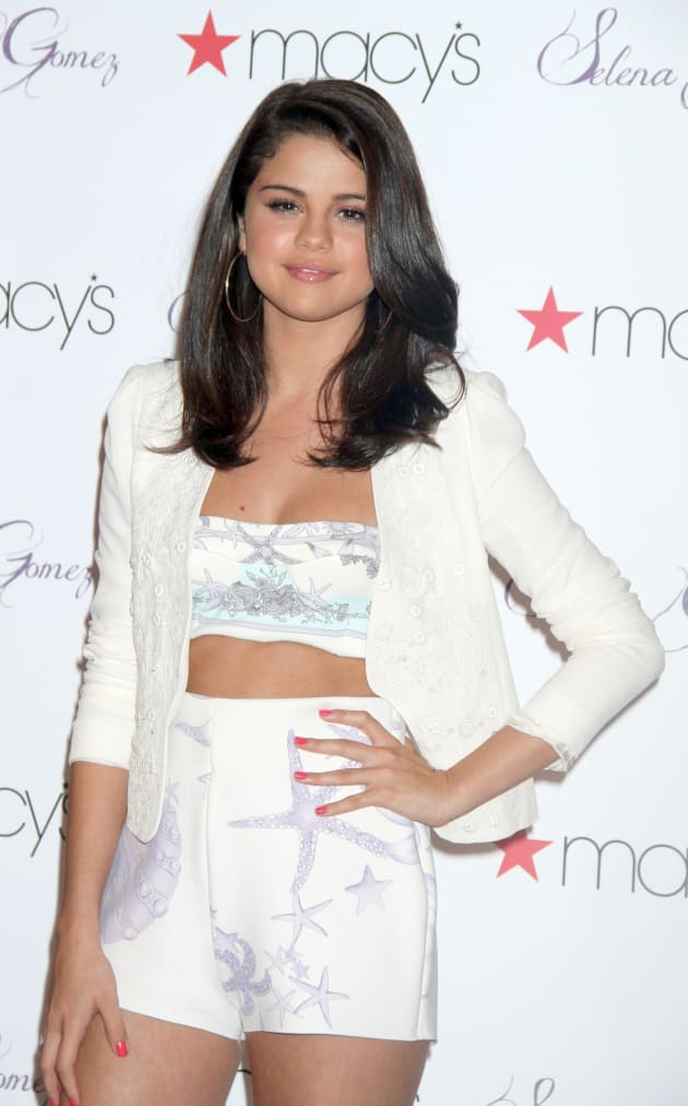 Selena Gomez in White