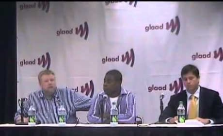 Tracy Morgan GLADD Press Conference