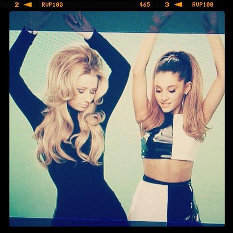 Ariana Grande and Iggy Azalea