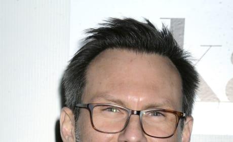 Christian Slater Smiles
