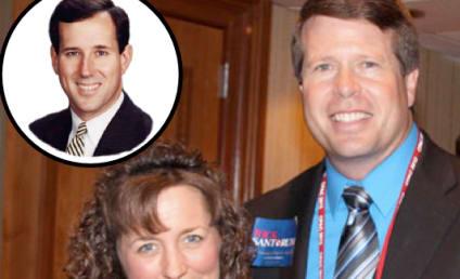 "Jim Bob & Michelle Duggar: Rick Santorum is ""Man of God"" to Lead the United States"