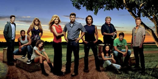 Friday Night Lights Cast Pic