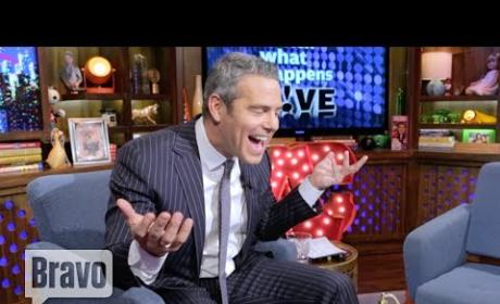 Andy Cohen Reacts to G.U.Y. Video Appearance