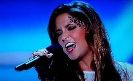 CeCe Frey Channels Xtina on The X Factor