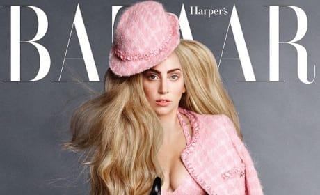 Gaga Harper's Bazaar Cover