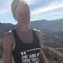 Kendra Wilkinson on a Hike