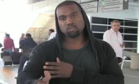 Kanye West at LAX Photo