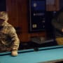 Sugar bear and geno doak play pool on from not to hot