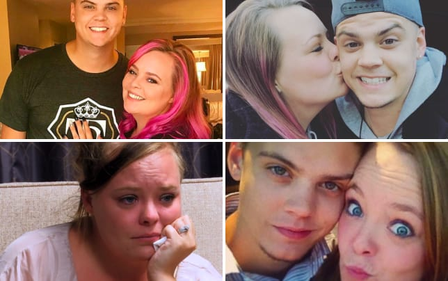Catelynn lowell and tyler baltierra snuggles