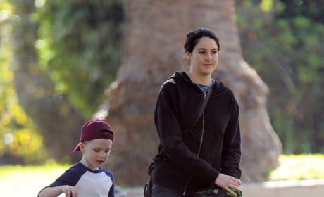 Shailene Woodley Films 'Big Little Lies'