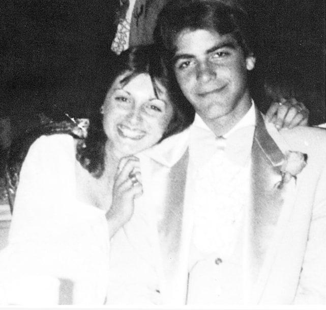 George Clooney Prom Photo