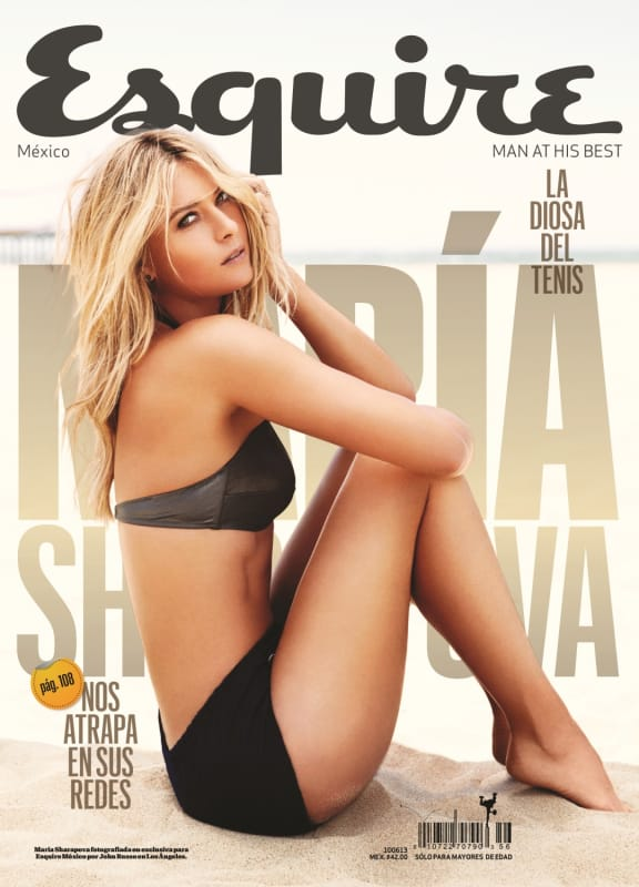 Maria Sharapova Esquire Cover