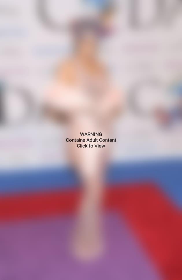 Rihanna See-Through Dress