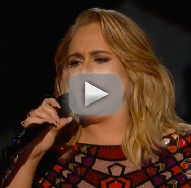 Adele says hello to 2017 grammy awards