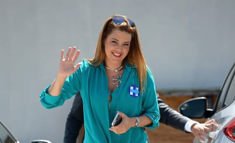 Alicia Machado on the Trail
