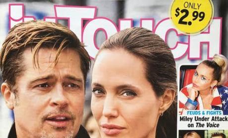 Angelina Jolie Brad Pitt Divorce Tabloid 9.16