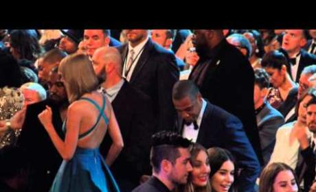 Taylor Swift, Kanye West, Jay Z at the Grammys
