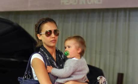 Alba and Baby