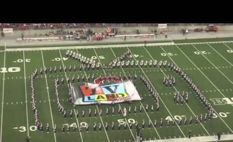 Ohio State Marching Band TV Tribute