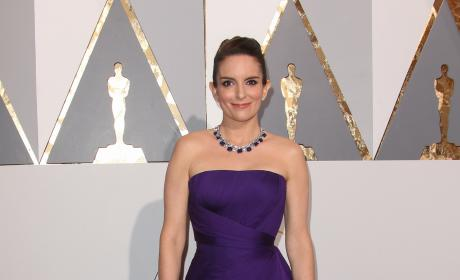 Tina Fey at 2016 Oscars
