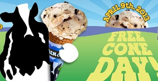 Free Cone Day pic