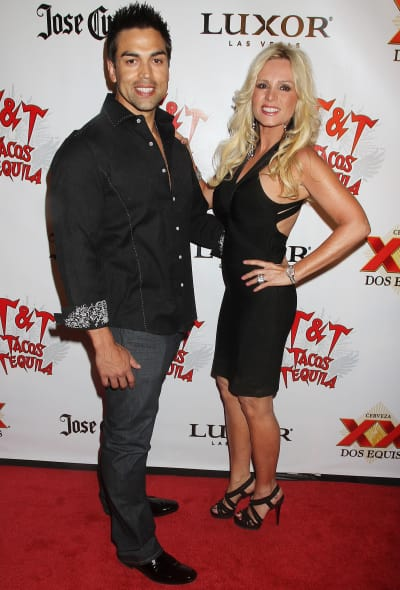 Tamra Barney and Eddie Judge