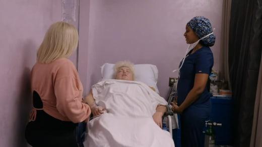 next time - Angela Deem asleep after procedure
