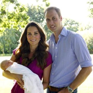 Royal Baby Portrait