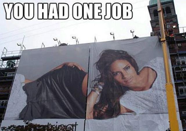 A Butchered Billboard