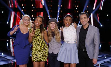 The Voice Top 5 (Season 8)