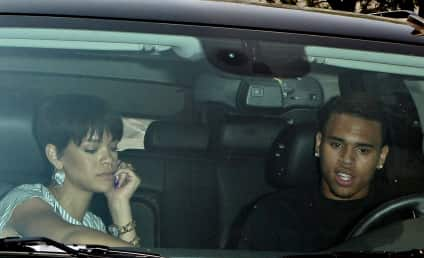 Rihanna Hangs Out with Someone That Won't Bludgeon Her Senseless