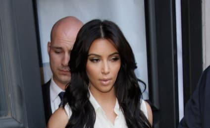 Kim Kardashian Style Watch: The One-Shoulder Dress