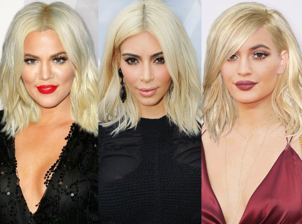 Kim Kardashian And Kompany See Their Kraziest Hairstyles The