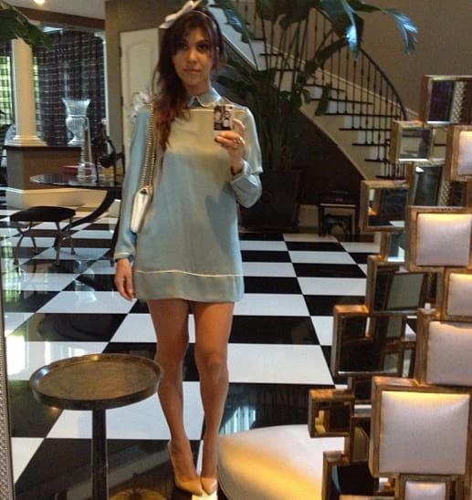 Meghan Mccain From Celebs Support Caitlyn Jenner: Kourtney Kardashian, Long Legs