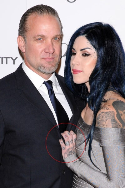 Jesse James and Kat Von D Photo