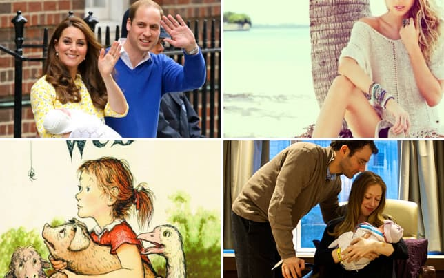 William kate and daughter