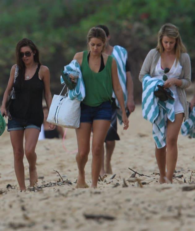 Audrina, Lauren and Lauren
