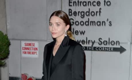 Ashley Olsen: Gemfields Jewelry Salon Opening
