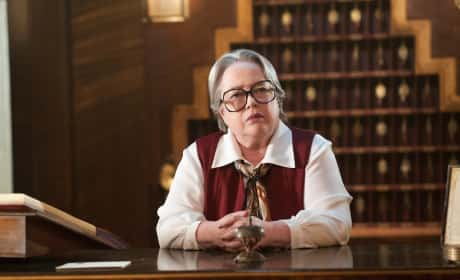Kathy Bates on American Horror Story: Hotel