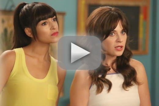 new girl season 4 episode 3 recap  trashy ashley and the sponge salesmen