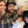 Lisa Osbourne, Jack Osbourne, Kelly Osbourne, Baby Minnie, and Ozzy Osbourne