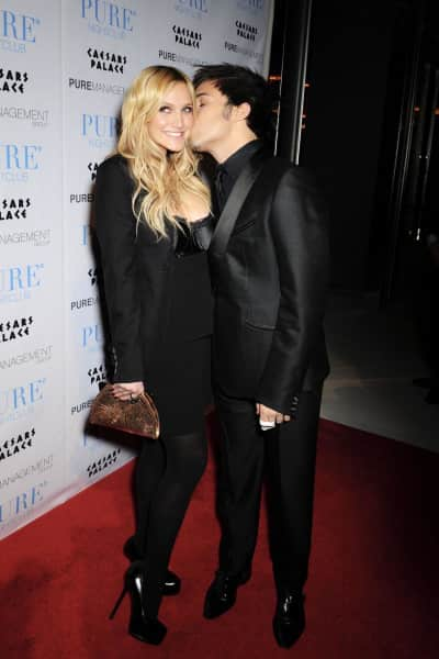 Pete Wentz and Wife