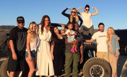 Caitlyn Jenner Shares Father's Day Photo Featuring Kim, Kanye, Khloe and Kendall!