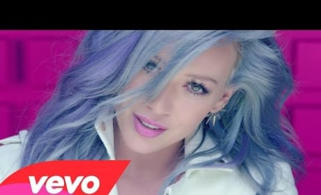 "Hilary Duff ""Sparks"" Music Video"