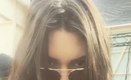 Kendall Jenner in Glasses