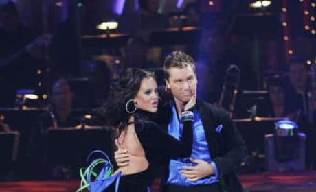 Lance Bass and Lacey Schwimmer Photo