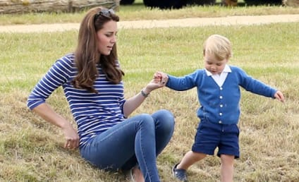 Kate Middleton, Prince George Look Precious at Polo Match: She Just Had a Baby When?!