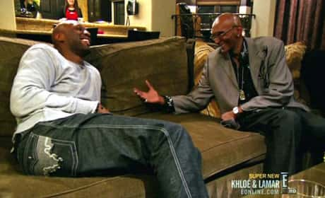 Lamar Odom and Joe Odom Laugh On 'Khloe & Lamar'